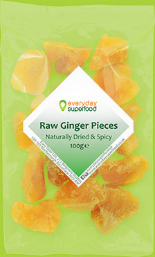Raw Ginger Pieces